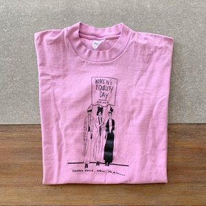 VINTAGE Women's Equality Tee size S-L